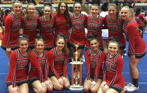 JAHS cheerleaders compete in state championship