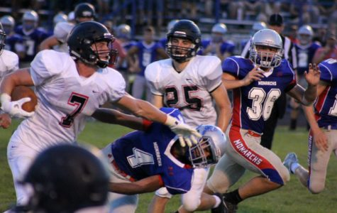Alder football rolls Marysville in week 1