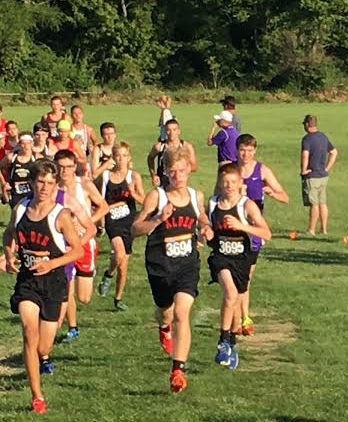 Cross country kicking into full gear