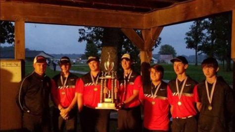 Boys Golf wins Madison County Championship
