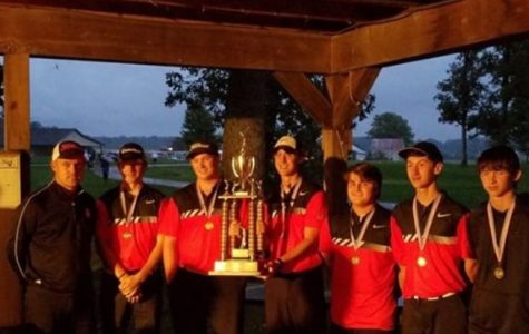 Boys Golf wins Madison County Championship