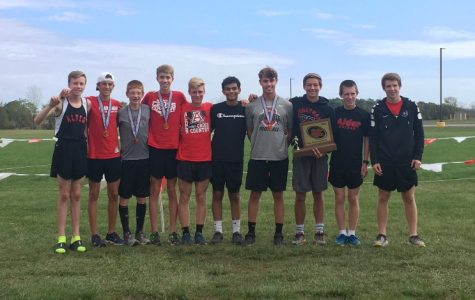 Boys Cross Country wins first Conference Championship