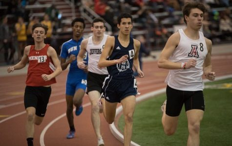 Indoor Track competes across Ohio