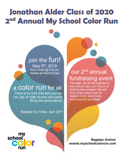 New Color Run Information!