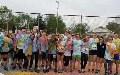 They came, they ran, they colored