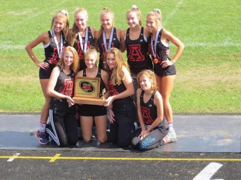 Girls XC win second Conference Title in four years