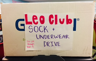 Leo Club Highlights DNA Needs in Clothing Drive