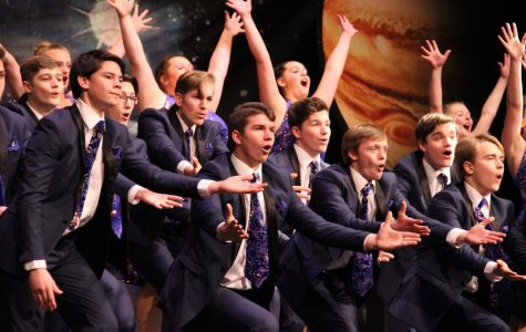 Jonathan Alder High Society Show Choir Enters the Cosmos
