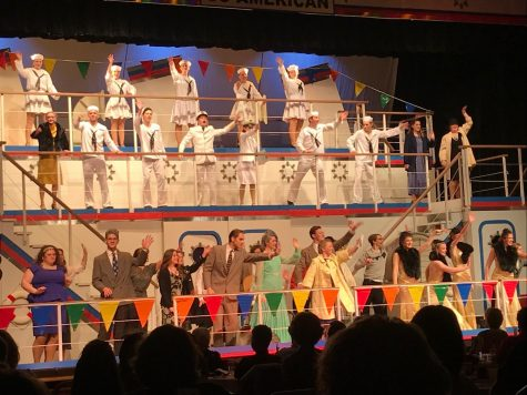 "Jonathan Alder students perform in ""Anything Goes"""