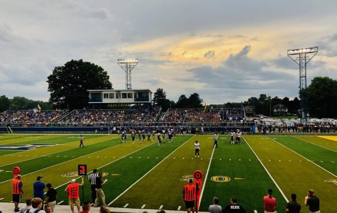 Alder's first game of the season at Philo.