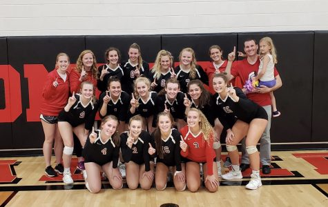 Volleyball Wins CBC Championship and Hopes for Long Post Season