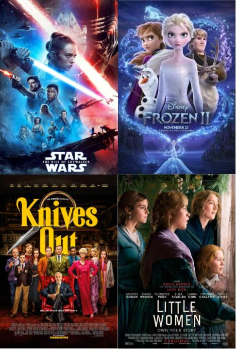 Winter Movies: What Alder Students Watched Over Break