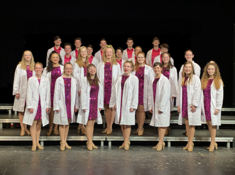 2019-2020 Show Choir, with the theme of Weird Science! Photo from the Jonathan Alder Music Booster website-http://www.jamb-arts.org/