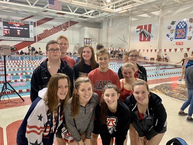 Alder's Swim Team Makes a Splash