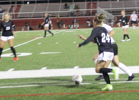 The Varsity Girls Soccer Team Rolls into the Post Season