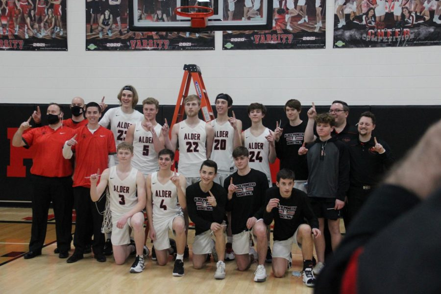 Gallery of Jonathan Alder Boys Basketball Victory Over KR To Earn CBC Title