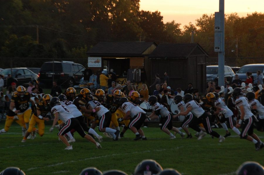 On the Road Against Kenton Ridge; Conference Win