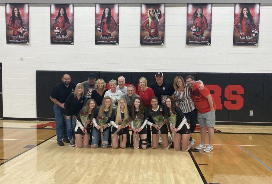 Alder Girls Volleyball: Senior Night