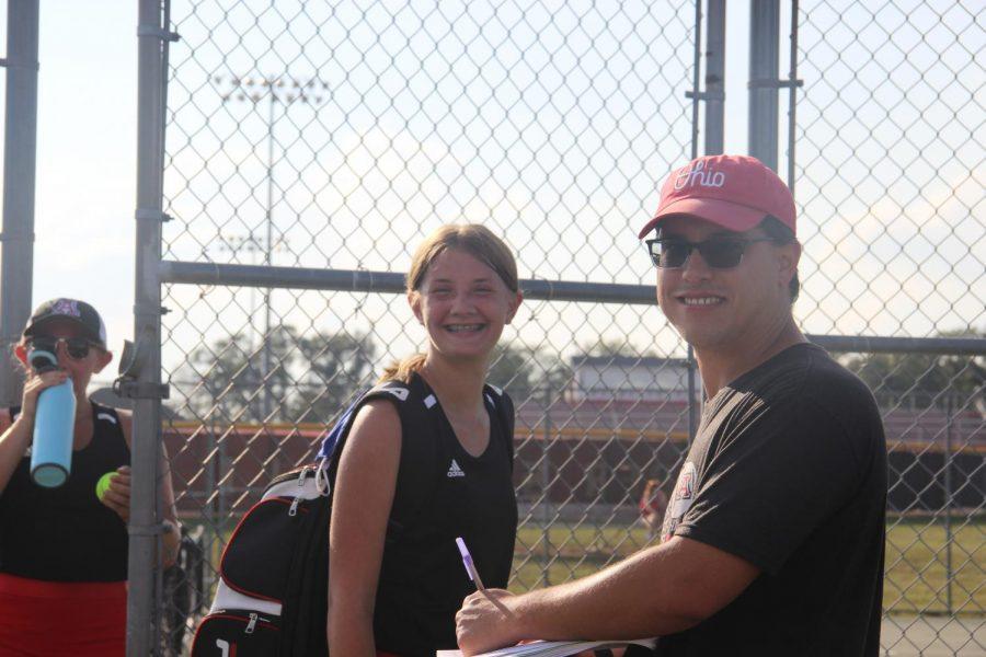 Jonathan Alder girls tennis team rounds out a strong season