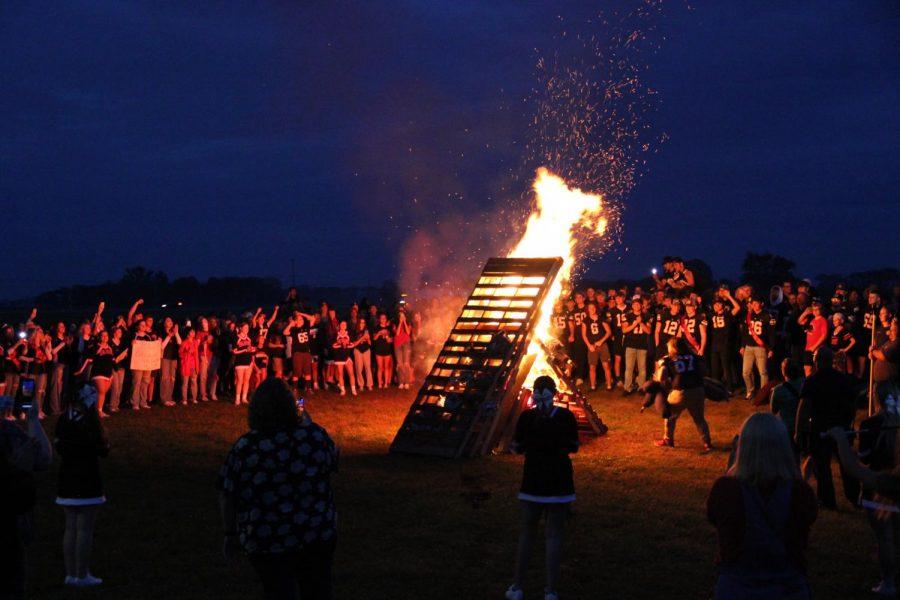 The fire that finally begun to light.